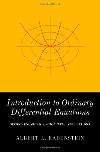 9780125739573: Introduction to Ordinary Differential Equations