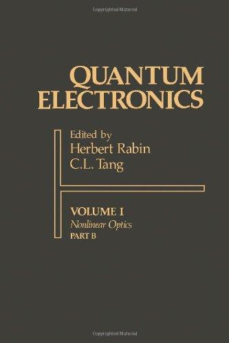 9780125740418: Quantum Electronics: A Treatise (Volume I: Nonlinear Optics, Part B)