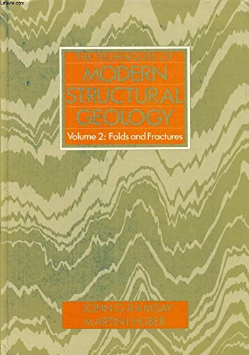 9780125769020: Techniques of Modern Structural Geology: Folds and Fractures