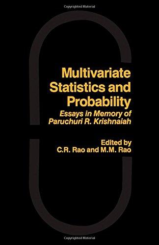 9780125802055: Multivariate Statistics and Probability: Essays in Memory of Paruchuri R. Krishnaiah