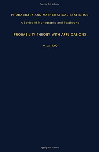 9780125804806: Probability Theory with Applications (Probability and Mathematical Statistics)