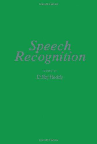 9780125845502: Speech Recognition: I.E.E.E.Symposium Proceedings (Academic Press rapid manuscript reproduction)
