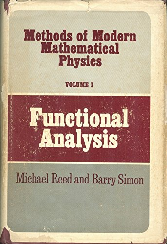 9780125850018: Methods of Modern Mathematical Physics: Functional Analysis v. 1