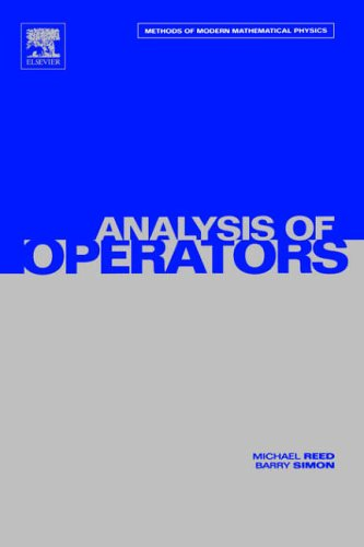 9780125850049: IV: Analysis of Operators: Volume 4: Analysis of Operators v. 4 (Methods of Modern Mathematical Physics)