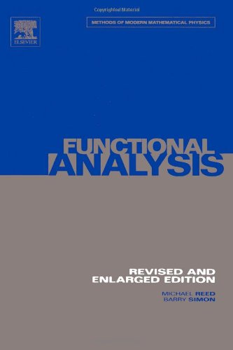 9780125850506: I: Functional Analysis: Volume 1: vol 1 (Methods of Modern Mathematical Physics)