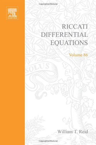 9780125862509: Riccati differential equations, Volume 86 (Mathematics in Science and Engineering)