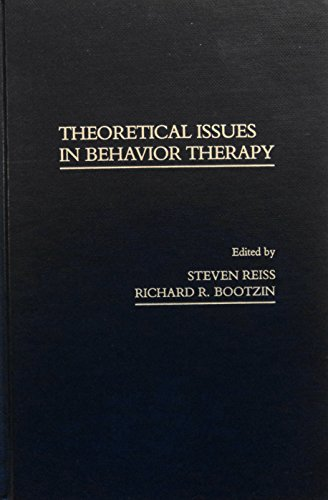 9780125863605: Theoretical Issues in Behavior Therapy