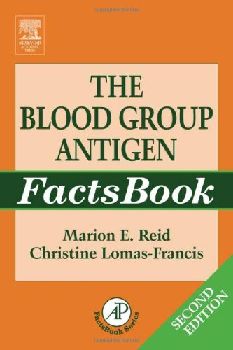 9780125865852: The Blood Group Antigen FactsBook, Second Edition
