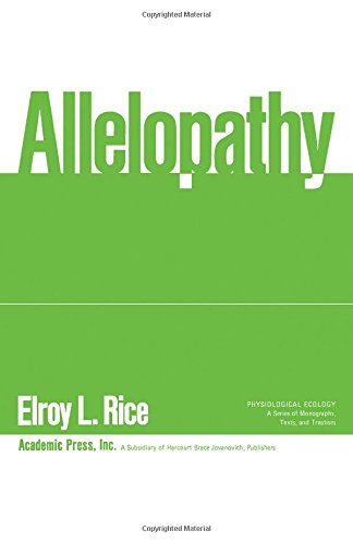9780125870504: Allelopathy (Physiological Ecology)