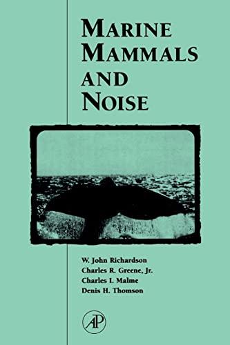 9780125884419: Marine Mammals and Noise