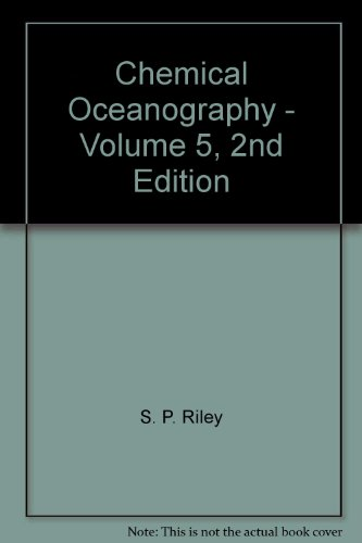 9780125886055: Chemical Oceanography - Volume 5, 2nd Edition