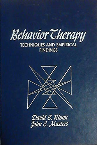 9780125888509: Behaviour Therapy: Techniques and Empirical Findings