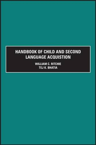 9780125890403: Handbook of Child and Second Language Acquis: Two Volume Set