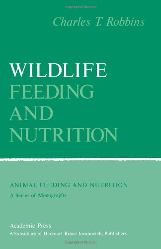 9780125893800: Wildlife Feeding and Nutrition (Animal feeding and nutrition)