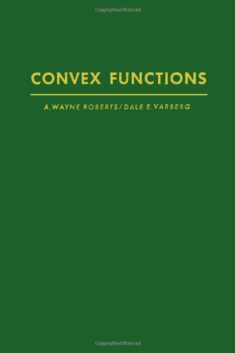 9780125897402: Convex Functions (Pure & Applied Mathematics)