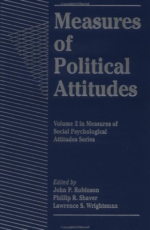 9780125902427: Measures of Political Attitudes (Measures of Social Psychological Attitudes)