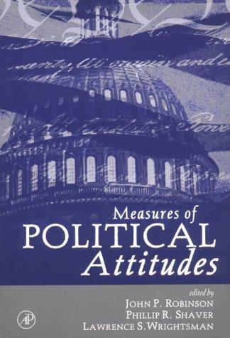 9780125902458: Measures of Political Attitudes (Measures of Social Psychological Attitudes)
