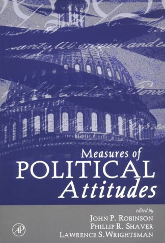 9780125902458: Measures of Political Attitudes (Measures of Social Psychological Attitudes)
