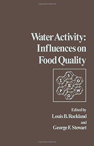 9780125913508: Water Activity: Influences on Food Quality