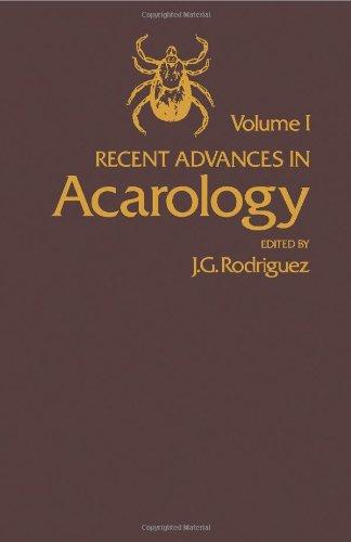 9780125922012: Recent Advances in Acarology: v. 1