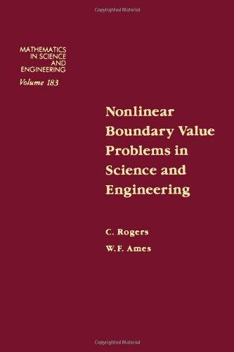 9780125931106: Nonlinear boundary value problems in science and engineering, Volume 183 (Mathematics in Science and Engineering)