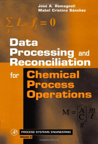 9780125944601: Data Processing and Reconciliation for Chemical Process Operations, Volume 2 (Process Systems Engineering)