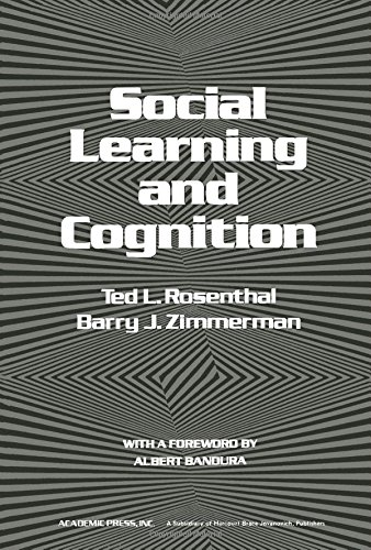 9780125967501: Social Learning and Cognition