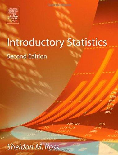 9780125971324: Introductory Statistics