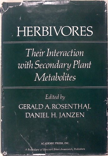 9780125971805: Herbivores: Their Interaction with Secondary Plant Metabolites