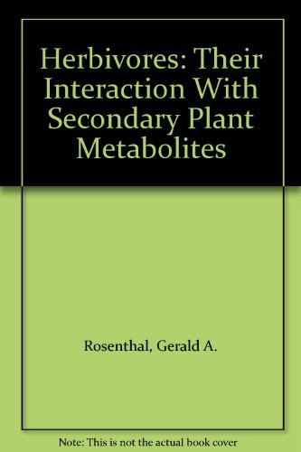 9780125971829: Herbivores: Their Interaction With Secondary Plant Metabolites