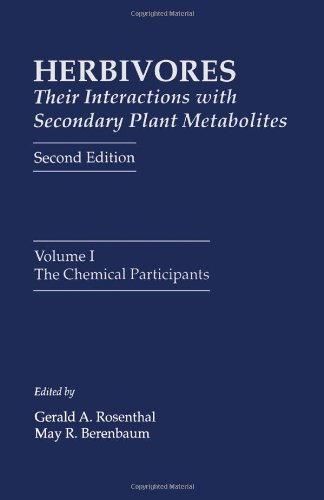 9780125971836: Herbivores: Their Interactions with Secondary Plant Metabolites, Second Edition: The Chemical Participants (Herbivores (2/e))