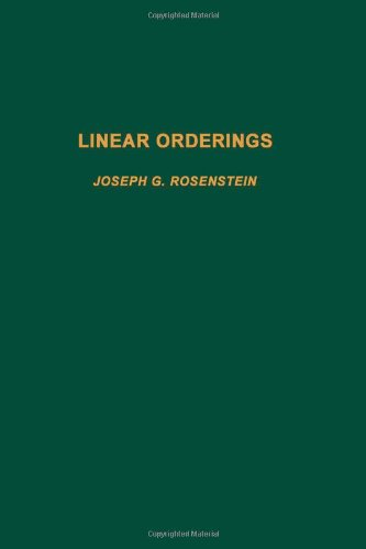 9780125976800: Linear orderings, Volume 98 (Pure and Applied Mathematics)