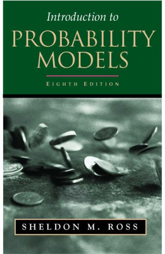 9780125980555: Introduction to Probability Models, Eighth Edition