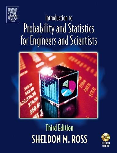 9780125980579: Introduction to Probablility and Statistics for Engineers and Scientists