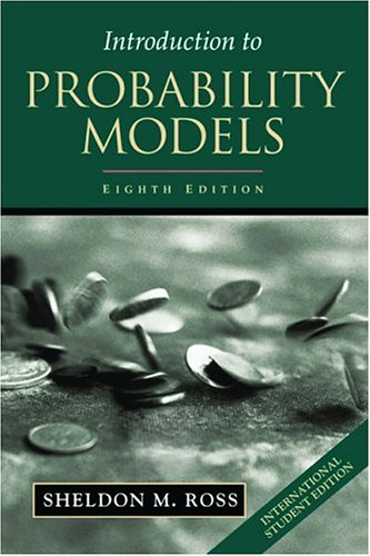 9780125980616: Introduction to Probability Models, ISE