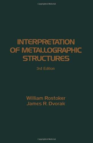 9780125982559: Interpretation of Metallographic Structures