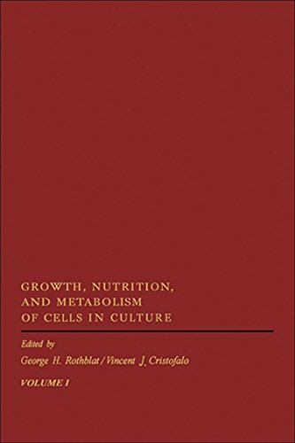 9780125983013: Growth, Nutrition, and Metabolism of Cells in Culture, Vol. 1