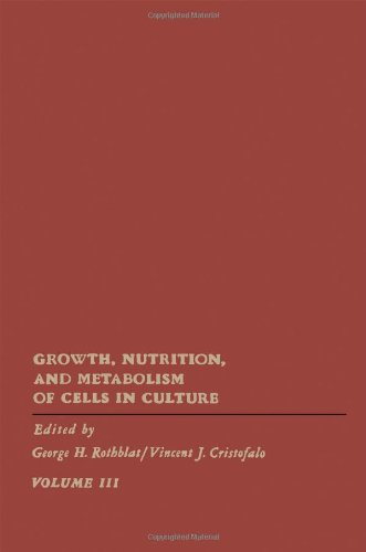 9780125983037: Growth, Nutrition and Metabolism of Cells in Culture: v. 3