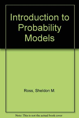 9780125984683: Introduction to Probability Models