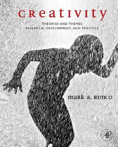 9780126024005: Creativity: Theories and Themes: Research, Development, and Practice
