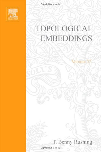9780126035506: Topological Embeddings (Pure and applied mathematics; a series of monographs and textbooks)