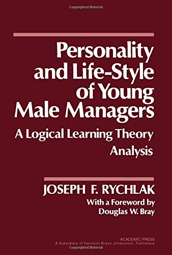 9780126051209: Personality and Lifestyle of Young Male Managers: A Logical Learning Theory Analysis