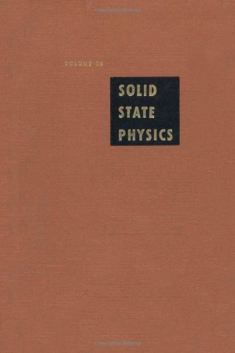 9780126077148: Solid State Physics: Advances in Research and Applications, Vol. 14