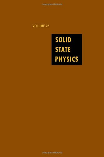 9780126077223: Solid State Physics: Advances in Research and Applications, Vol. 22