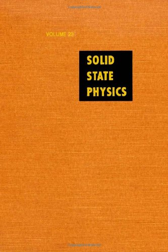 9780126077230: Solid State Physics: Advances in Research and Applications, Vol. 23