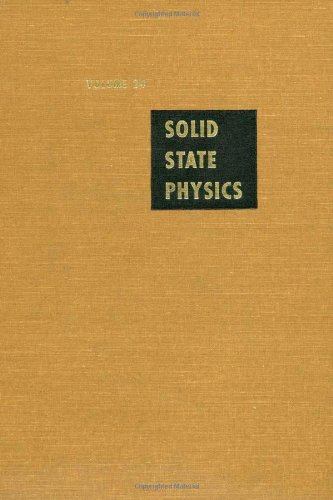 9780126077247: Solid State Physics: Advances in Research and Applications, Vol. 24