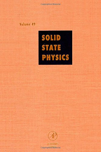 9780126077490: Solid State Physics: Advances in Research and Applications, Vol. 49