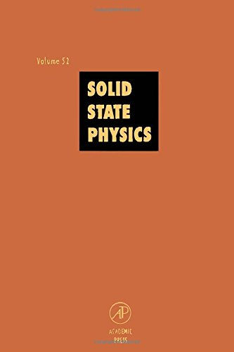 9780126077537: Solid State Physics: Advances in Research and Applications, Vol. 52