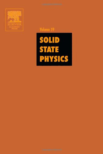 9780126077599: Solid State Physics: Advances in Research and Applications, Vol. 59