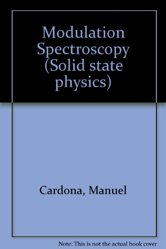 9780126077711: Solid State Physics: Modulation Spectroscopy